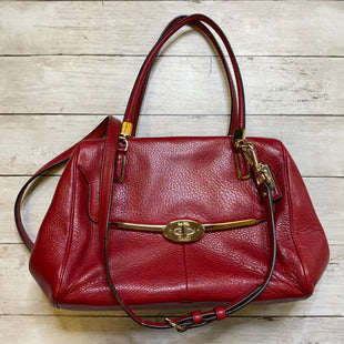 Primary Photo - BRAND: COACH STYLE: HANDBAG DESIGNER COLOR: RED SIZE: SMALL SKU: 176-176122-20365