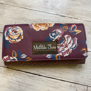 Primary Photo - BRAND: MATILDA JANE STYLE: WALLET COLOR: PURPLE SIZE: MEDIUM SKU: 176-176122-18389