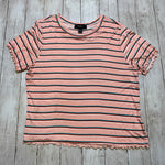 Primary Photo - BRAND: FOREVER 21 <BR>STYLE: TOP SHORT SLEEVE BASIC <BR>COLOR: PINK <BR>SIZE: 2X <BR>SKU: 176-176122-20699