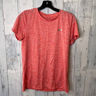 Primary Photo - BRAND: UNDER ARMOUR STYLE: ATHLETIC TOP SHORT SLEEVE COLOR: CORAL SIZE: M SKU: 176-176140-1624