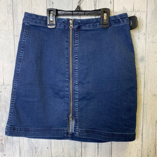 Primary Photo - BRAND: FREE PEOPLE STYLE: SKIRT COLOR: DENIM SIZE: 8 SKU: 176-176114-37455