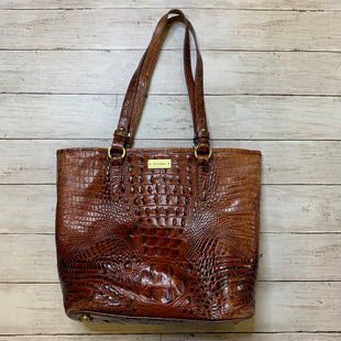 Primary Photo - BRAND: BRAHMIN STYLE: HANDBAG DESIGNER COLOR: BROWN SIZE: LARGE OTHER INFO: AS IS SKU: 176-17684-47551