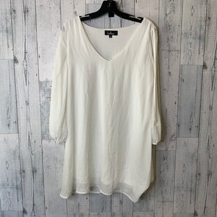 Primary Photo - BRAND: LULUS STYLE: DRESS SHORT LONG SLEEVE COLOR: WHITE SIZE: S SKU: 176-176153-102
