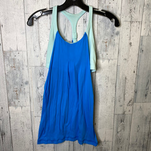 Primary Photo - BRAND: LULULEMON STYLE: ATHLETIC TANK TOP COLOR: BLUE SIZE: 4 SKU: 176-17684-45302