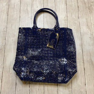 Primary Photo - BRAND: TORY BURCH STYLE: TOTE COLOR: NAVY SIZE: MEDIUM SKU: 176-176121-23567