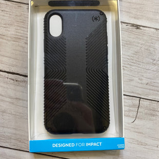 Primary Photo - BRAND:    SPECKSTYLE: ACCESSORY TAG COLOR: BLACK OTHER INFO: SPECK - IPHONE X CASE SKU: 176-176114-34422