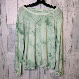 Primary Photo - BRAND: WORKSHOP STYLE: TOP LONG SLEEVE COLOR: GREEN SIZE: L SKU: 176-17684-47033