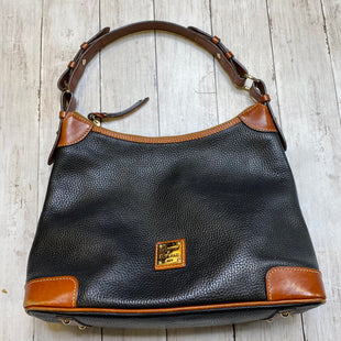 Primary Photo - BRAND: DOONEY AND BOURKE STYLE: HANDBAG DESIGNER COLOR: BLACK SIZE: MEDIUM OTHER INFO: AS IS SKU: 176-17684-46775