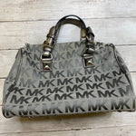 Photo #1 - BRAND: MICHAEL KORS <BR>STYLE: HANDBAG DESIGNER <BR>COLOR: GREY <BR>SIZE: MEDIUM <BR>OTHER INFO: AS IS <BR>SKU: 176-176146-378
