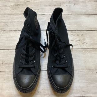 Primary Photo - BRAND: CONVERSE STYLE: SHOES ATHLETIC COLOR: BLACK SIZE: 9.5 SKU: 176-176150-2830