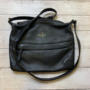 Primary Photo - BRAND: KATE SPADE STYLE: HANDBAG DESIGNER COLOR: BLACK SIZE: MEDIUM SKU: 176-176114-37360