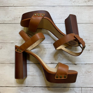 Primary Photo - BRAND: VINCE CAMUTO STYLE: SHOES HIGH HEEL COLOR: BROWN SIZE: 9.5 SKU: 176-17641-39076
