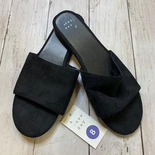 Primary Photo - BRAND: A NEW DAY STYLE: SANDALS FLAT COLOR: BLACK SIZE: 8 SKU: 176-17684-45768