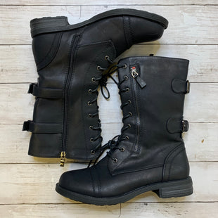 Primary Photo - BRAND:    CLOTHES MENTOR STYLE: BOOTS ANKLE COLOR: BLACK SIZE: 11 OTHER INFO: SHOE LAND - SKU: 176-17641-39277