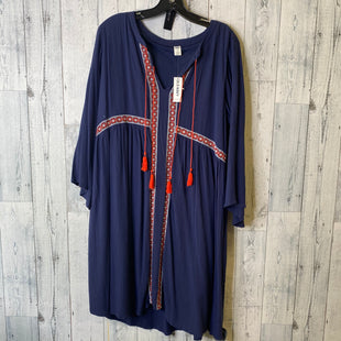 Primary Photo - BRAND: OLD NAVY STYLE: DRESS SHORT LONG SLEEVE COLOR: NAVY SIZE: L SKU: 176-17641-39730