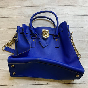 Primary Photo - BRAND: MICHAEL KORS STYLE: HANDBAG DESIGNER COLOR: ROYAL BLUE SIZE: LARGE SKU: 176-176114-38528