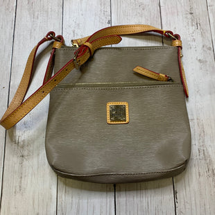 Primary Photo - BRAND: DOONEY AND BOURKE STYLE: HANDBAG DESIGNER COLOR: GREY SIZE: SMALL SKU: 176-176124-23310