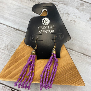 Primary Photo - BRAND:    CLOTHES MENTOR STYLE: EARRINGS COLOR: PURPLE SKU: 176-176121-23327