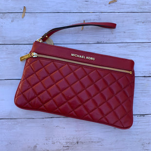 Primary Photo - BRAND: MICHAEL BY MICHAEL KORS STYLE: WRISTLET COLOR: RED SKU: 176-17641-38181