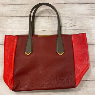 Primary Photo - BRAND: MARC BY MARC JACOBS STYLE: HANDBAG DESIGNER COLOR: RED SIZE: MEDIUM SKU: 176-176122-17221