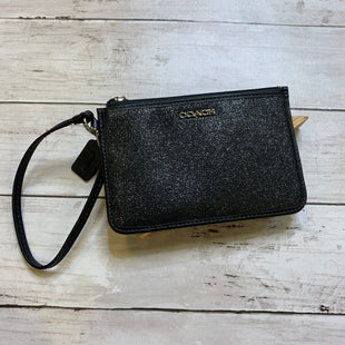 Primary Photo - BRAND: COACH STYLE: WRISTLET COLOR: BLACK SKU: 176-176140-2595