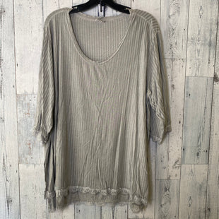 Primary Photo - BRAND: POL STYLE: TOP LONG SLEEVE COLOR: GREY SIZE: L SKU: 176-17684-47006
