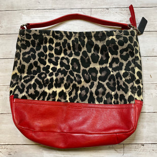 Primary Photo - BRAND: COACH STYLE: HANDBAG DESIGNER COLOR: ANIMAL PRINT SIZE: MEDIUM SKU: 176-176121-24506