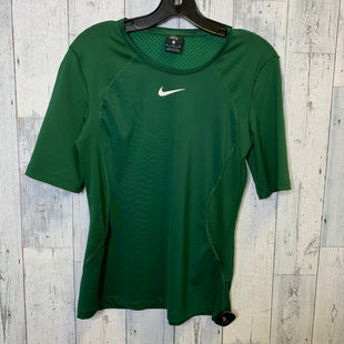 Primary Photo - BRAND: NIKE APPAREL STYLE: ATHLETIC TOP SHORT SLEEVE COLOR: GREEN SIZE: M SKU: 176-17684-45590