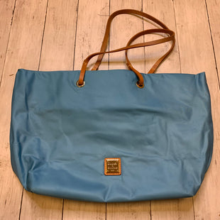 Primary Photo - BRAND: DOONEY AND BOURKE STYLE: HANDBAG DESIGNER COLOR: LIGHT BLUE SIZE: LARGE SKU: 176-176121-24487