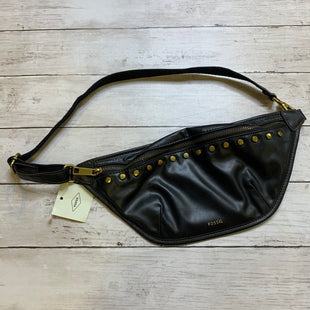 Primary Photo - BRAND: FOSSIL STYLE: ACCESSORY TAG COLOR: BLACK OTHER INFO: FANNY PACK SKU: 176-176124-26229