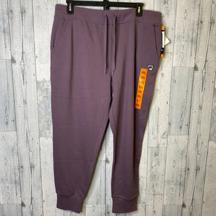 Primary Photo - BRAND: FILA STYLE: ATHLETIC PANTS COLOR: PURPLE SIZE: 1X SKU: 176-176124-24533