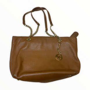 Primary Photo - BRAND: MICHAEL KORS STYLE: HANDBAG DESIGNER COLOR: TAN SIZE: LARGE OTHER: AS ISSKU: 176-17684-47893