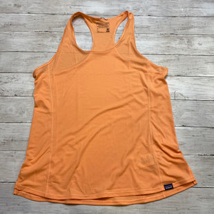 Primary Photo - BRAND: PATAGONIA STYLE: ATHLETIC TANK TOP COLOR: ORANGE SIZE: L SKU: 176-17684-46682