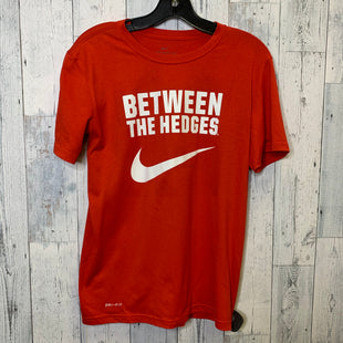 Primary Photo - BRAND: NIKE APPAREL STYLE: ATHLETIC TOP SHORT SLEEVE COLOR: RED SIZE: S SKU: 176-176122-19755