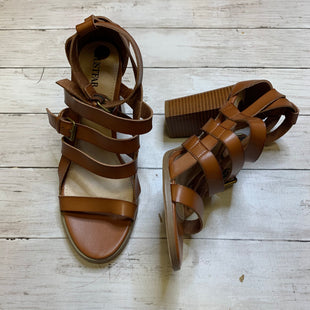 Primary Photo - BRAND: JUST FAB STYLE: SANDALS HIGH COLOR: BROWN SIZE: 10 SKU: 176-17684-42817