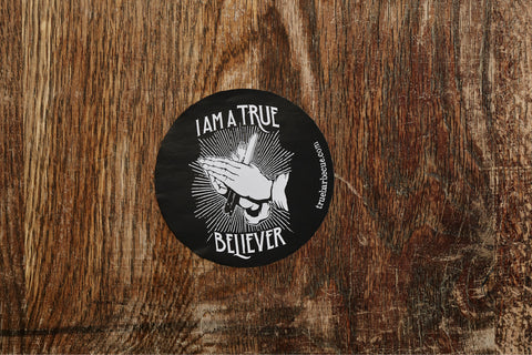 Red's BBQ True Believer Sticker Sheet