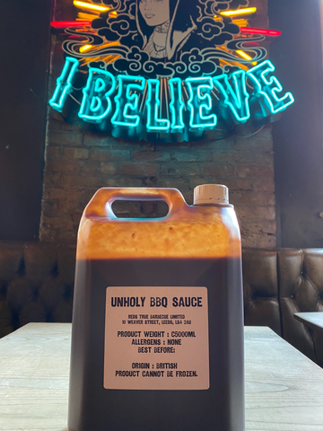 Red's Unholy Barbecue Sauce - Large (5Litre)