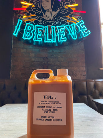 Red's Triple 6 Hot Sauce- Large (2.5Litre)