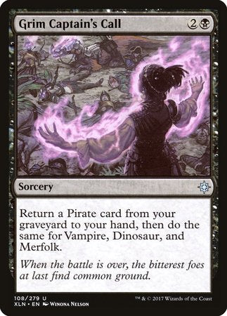 Grim Captain's Call [Ixalan] | Lots Moore NSW