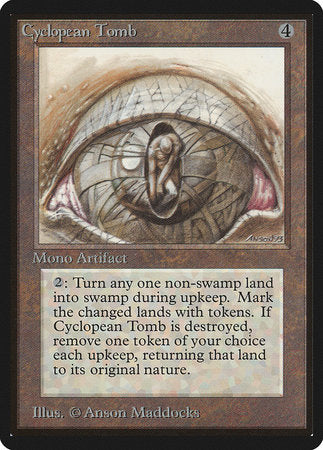 Cyclopean Tomb [Limited Edition Beta] | Lots Moore NSW