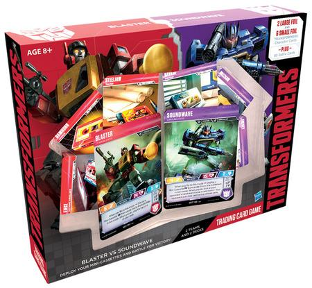 Transformers TCG: Blaster VS Soundwave 2-Player Starter Set | Lots Moore NSW