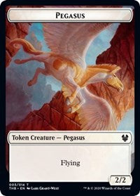 Pegasus Token [Theros Beyond Death] | Lots Moore NSW