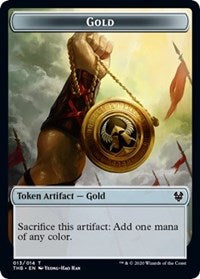 Gold Token [Theros Beyond Death] | Lots Moore NSW