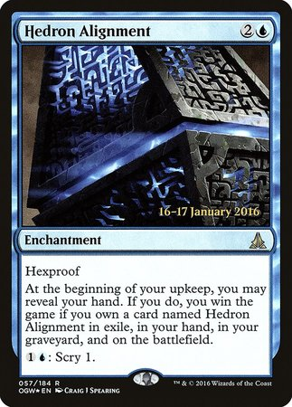 Hedron Alignment [Oath of the Gatewatch Promos] | Lots Moore NSW