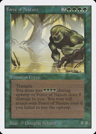Force of Nature [Unlimited Edition] | Lots Moore NSW