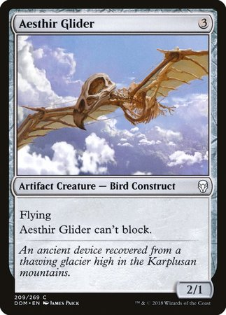 Aesthir Glider [Dominaria] | Lots Moore NSW