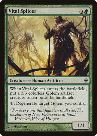 Vital Splicer [New Phyrexia] | Lots Moore NSW