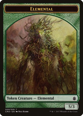 Elemental Token (009) [Commander Anthology Tokens] | Lots Moore NSW