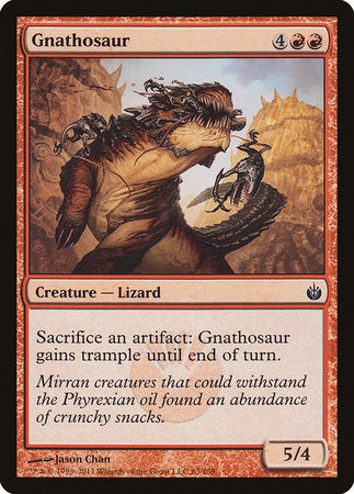 Gnathosaur [Mirrodin Besieged] | Lots Moore NSW