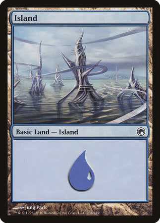Island (236) [Scars of Mirrodin] | Lots Moore NSW